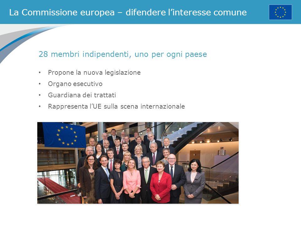 La Commissione europea – difendere l'interesse comune