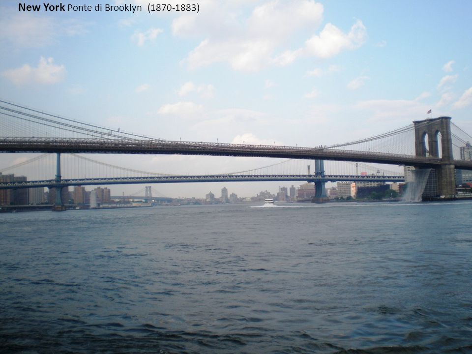 New York Ponte di Brooklyn (1870-1883)