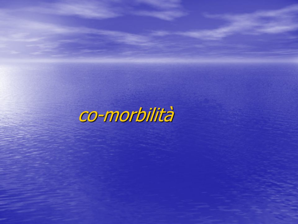 co-morbilità