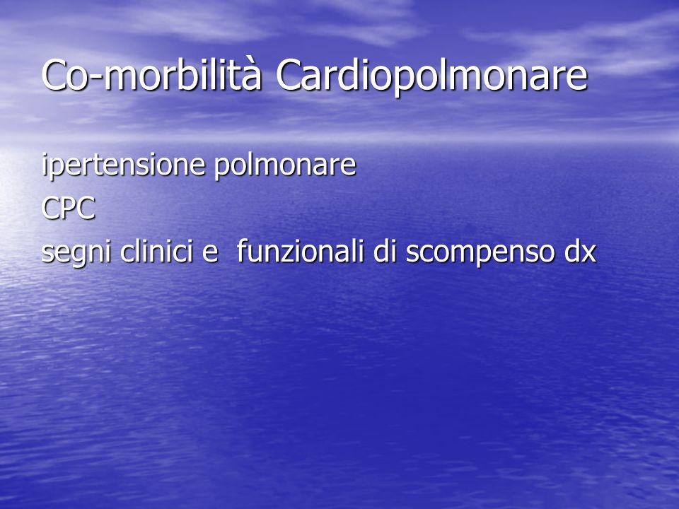 Co-morbilità Cardiopolmonare