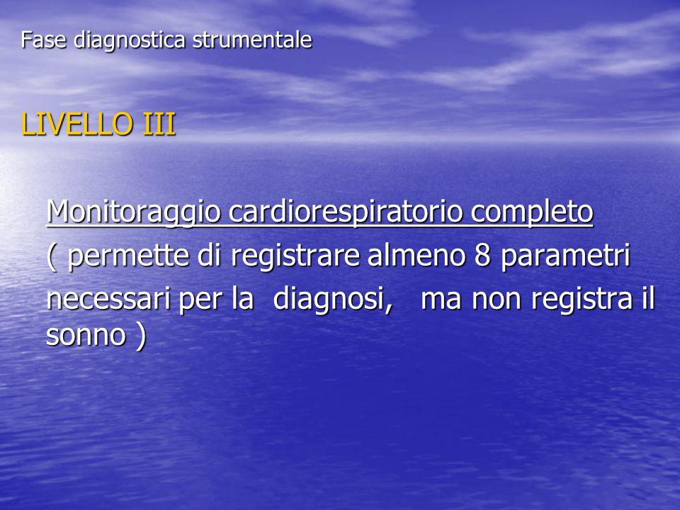 Monitoraggio cardiorespiratorio completo
