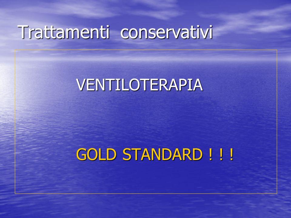 Trattamenti conservativi