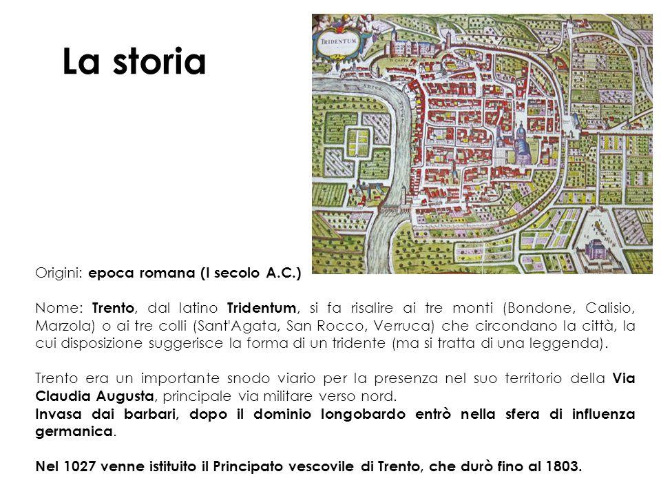 La storia Origini: epoca romana (I secolo A.C.)