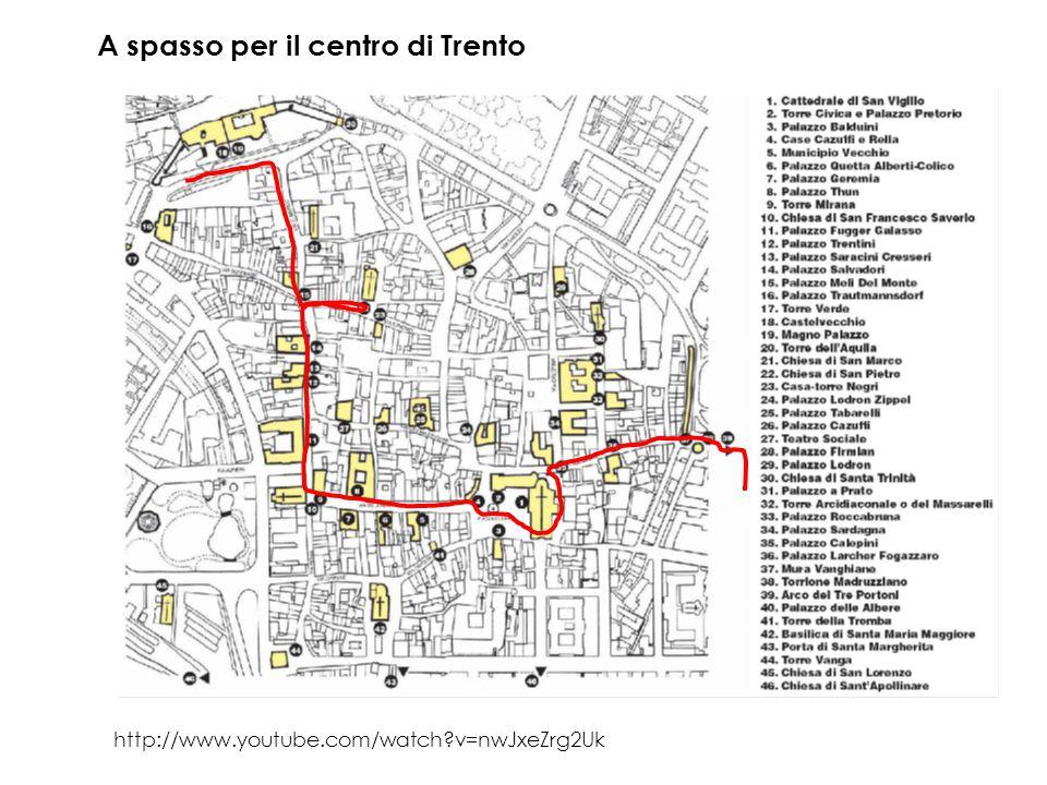 A spasso per il centro di Trento