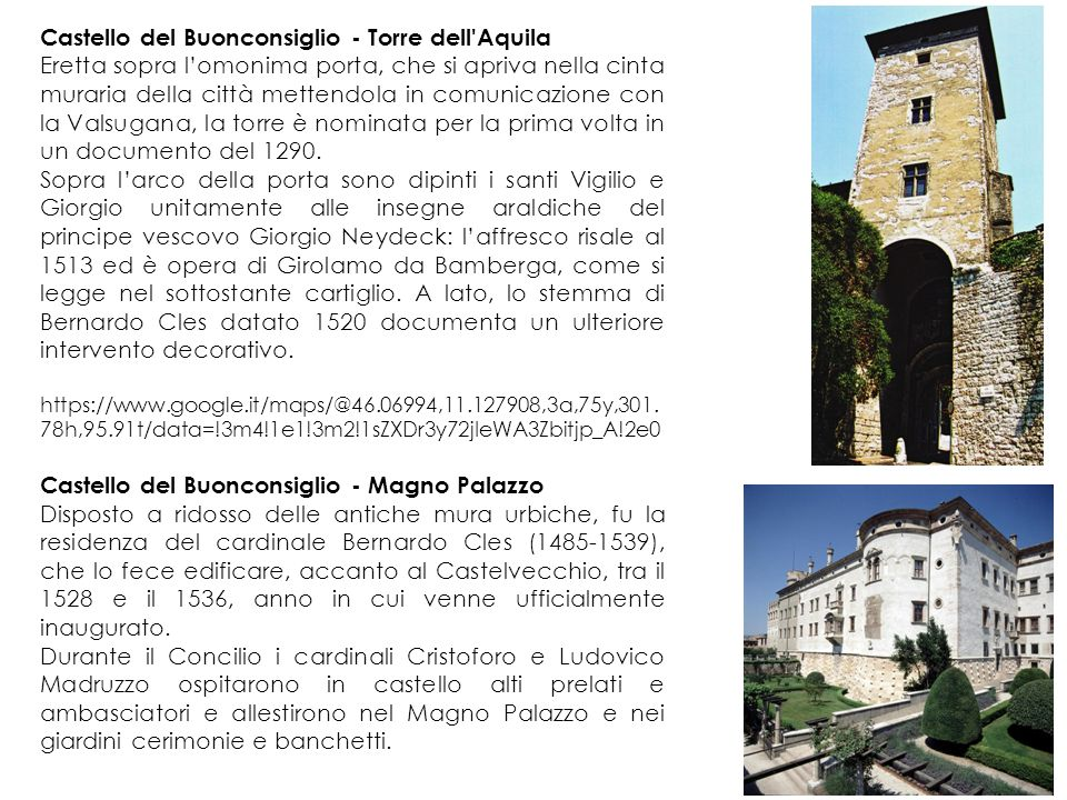 Castello del Buonconsiglio - Torre dell Aquila