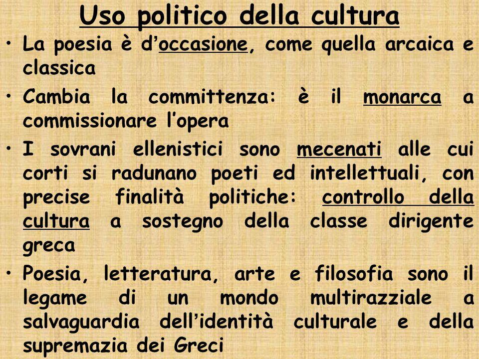 Uso politico della cultura