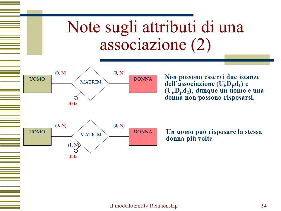 Note sugli attributi di una associazione (2)