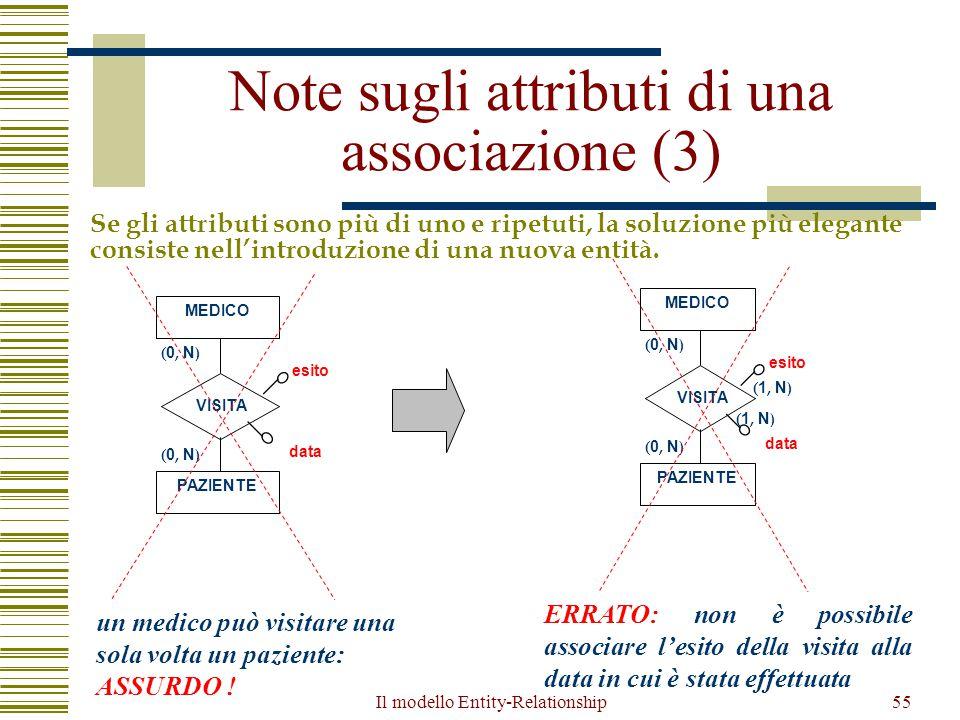 Note sugli attributi di una associazione (3)