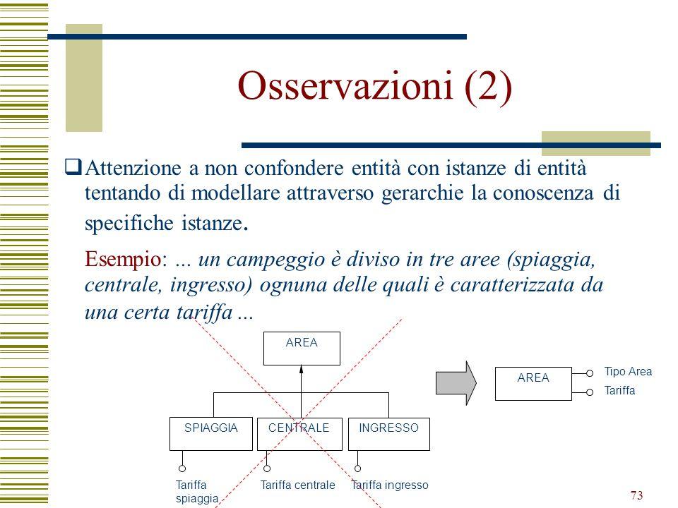 Osservazioni (2)
