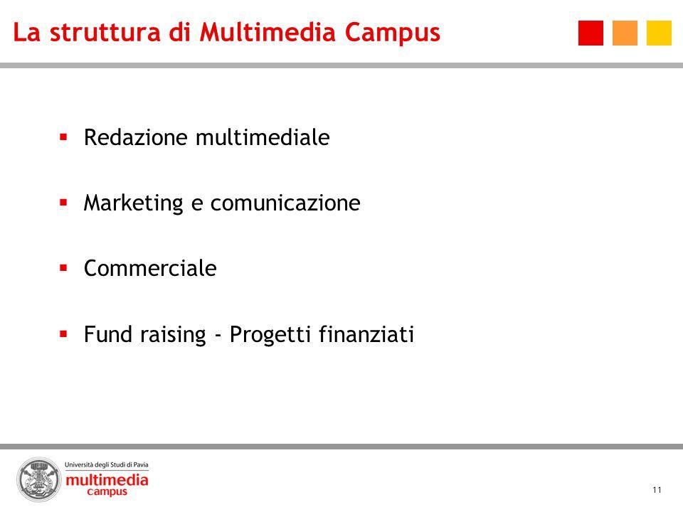 La struttura di Multimedia Campus