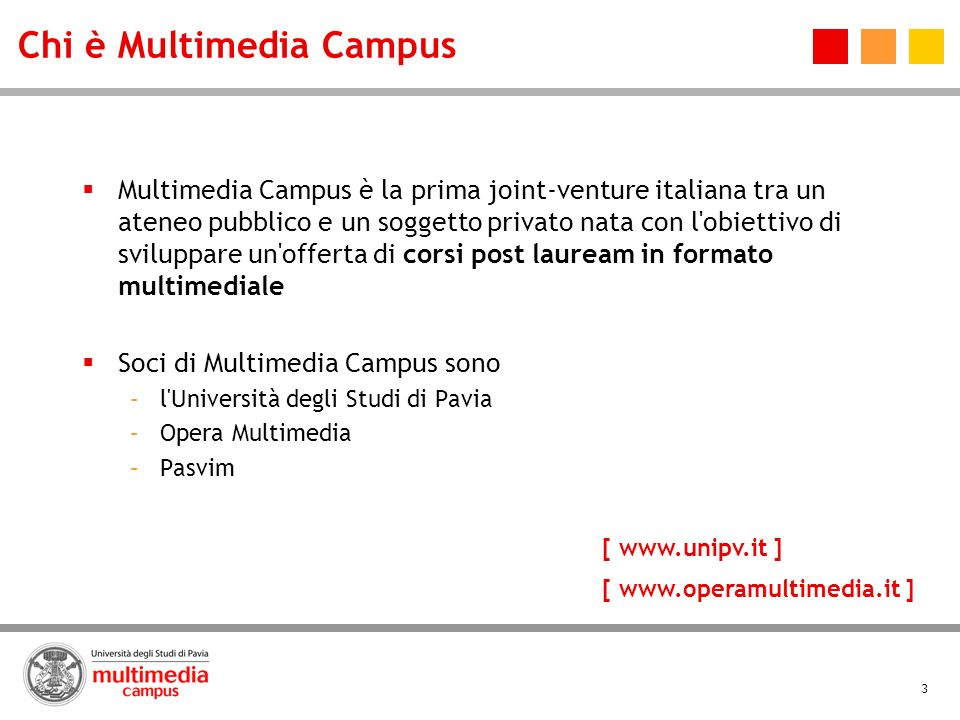 Chi è Multimedia Campus