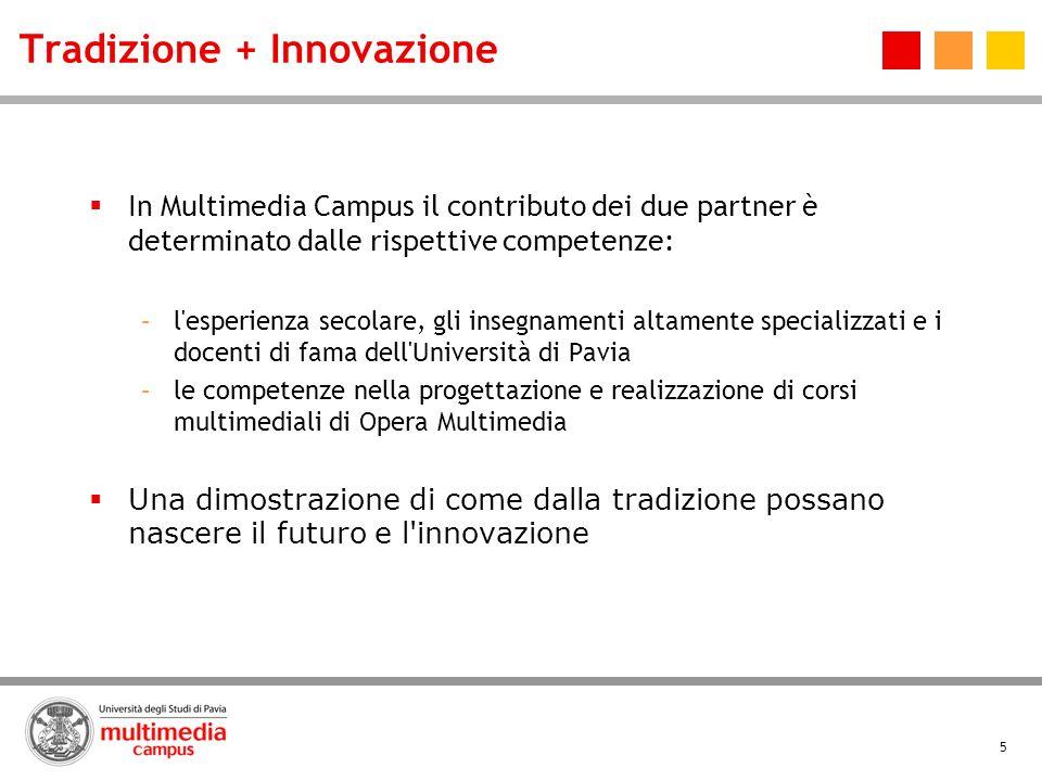 Tradizione + Innovazione