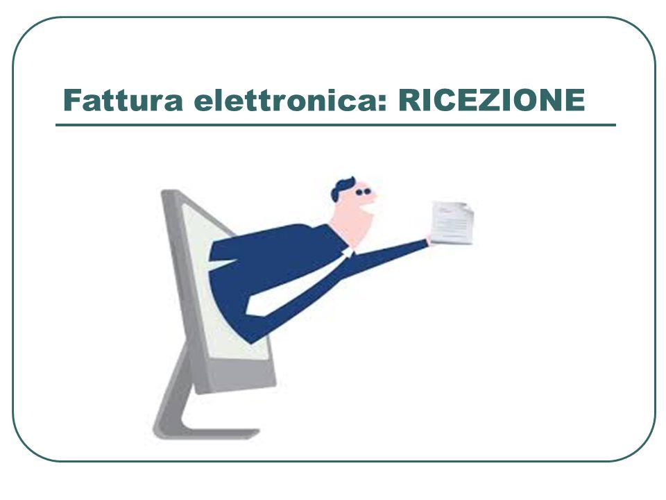 Fattura elettronica: RICEZIONE