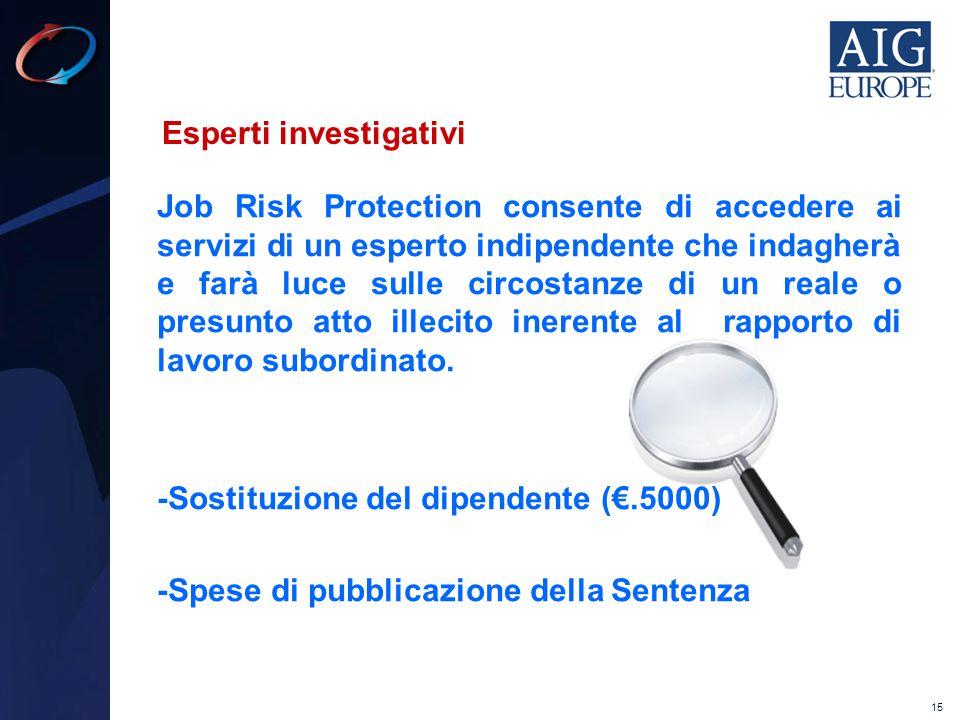 Esperti investigativi