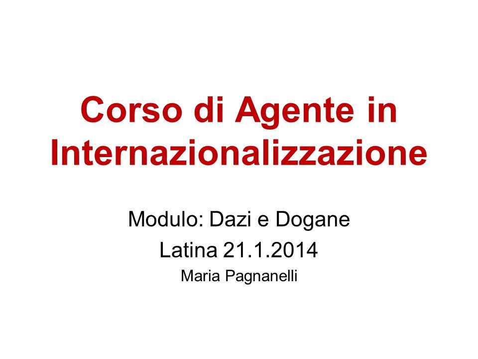 Corso di Agente in Internazionalizzazione