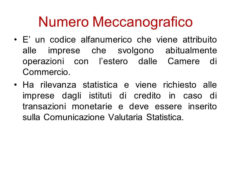 Numero Meccanografico