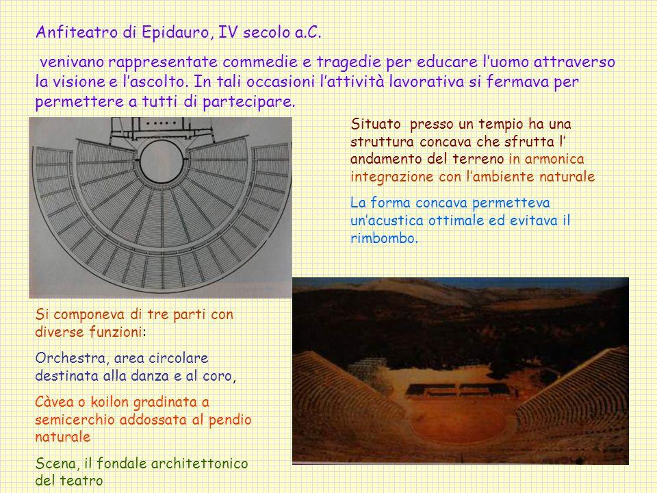 Anfiteatro di Epidauro, IV secolo a.C.