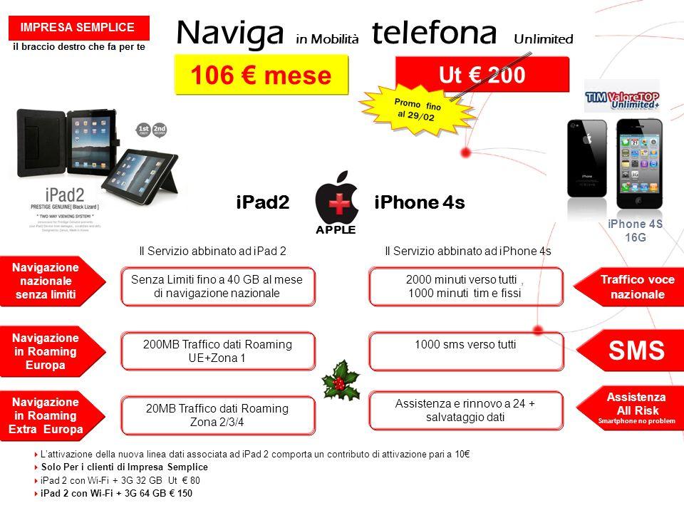 Naviga in Mobilità telefona Unlimited