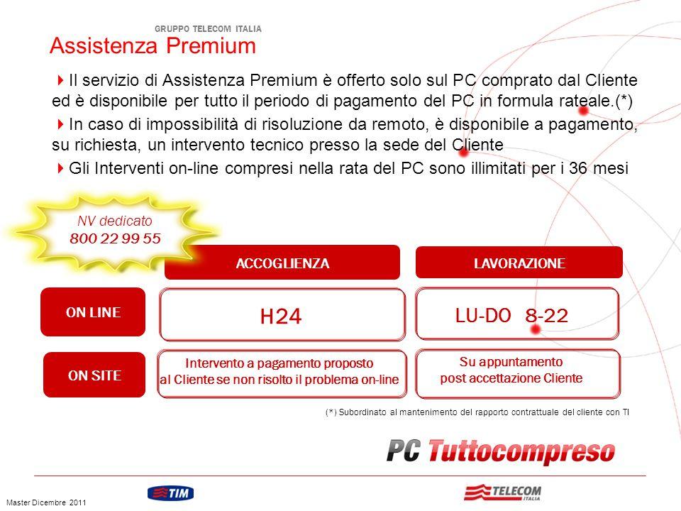 Assistenza Premium H24 LU-DO 8-22