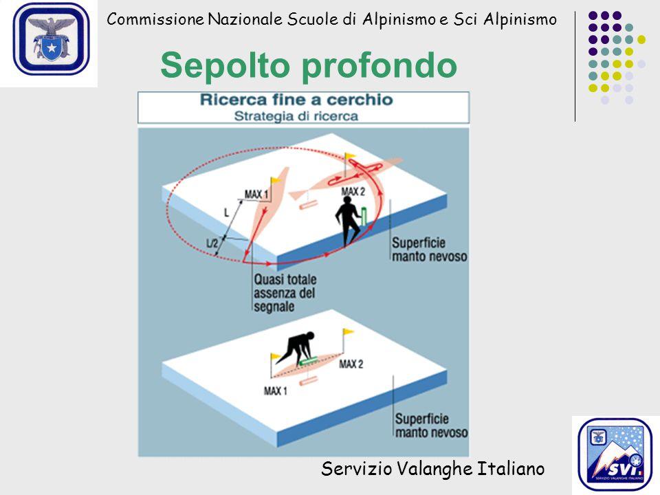 Sepolto profondo Servizio Valanghe Italiano