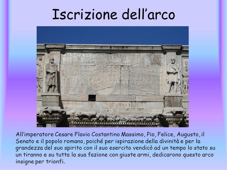 Iscrizione dell'arco