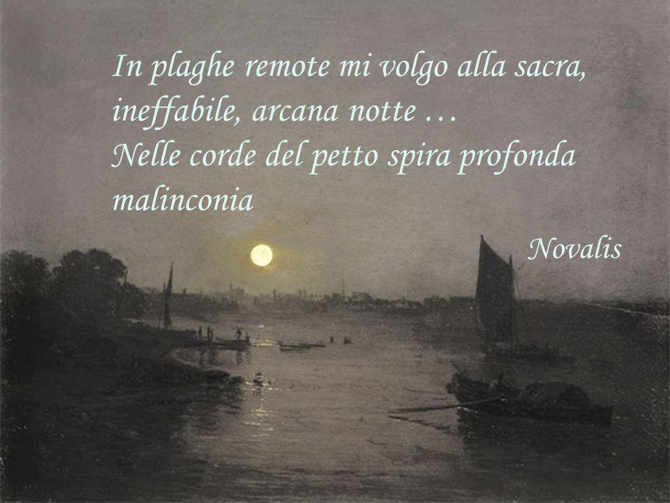 In plaghe remote mi volgo alla sacra, ineffabile, arcana notte …