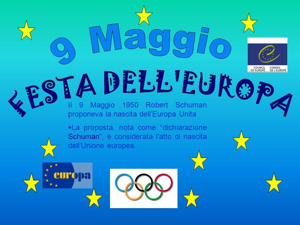 9 Maggio FESTA DELL EUROPA