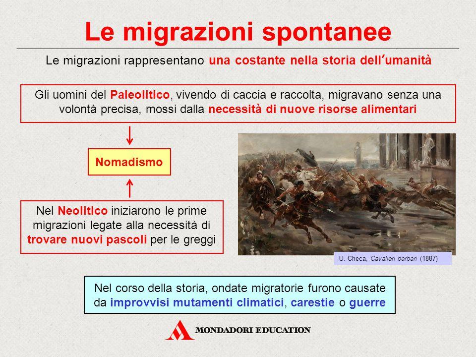 Le migrazioni spontanee