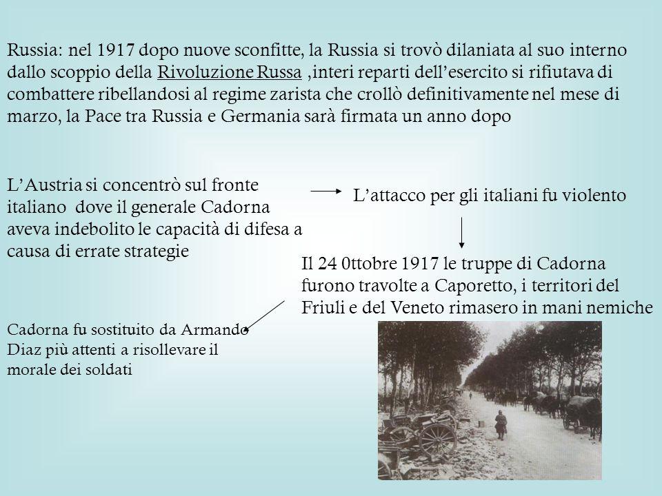 L'attacco per gli italiani fu violento
