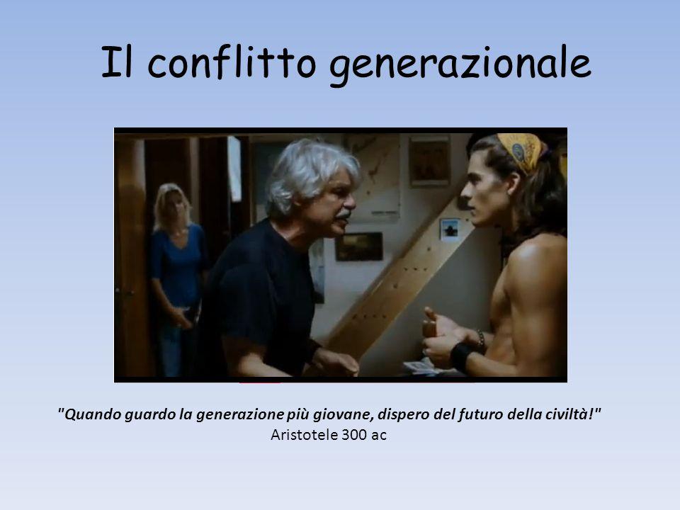 Il conflitto generazionale