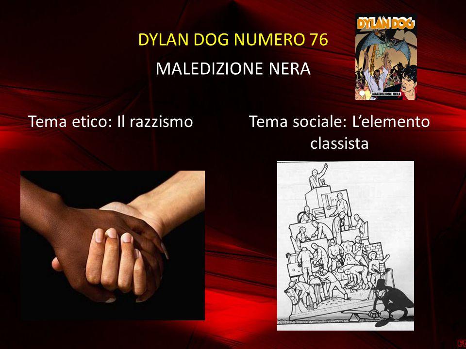 DYLAN DOG NUMERO 76 MALEDIZIONE NERA