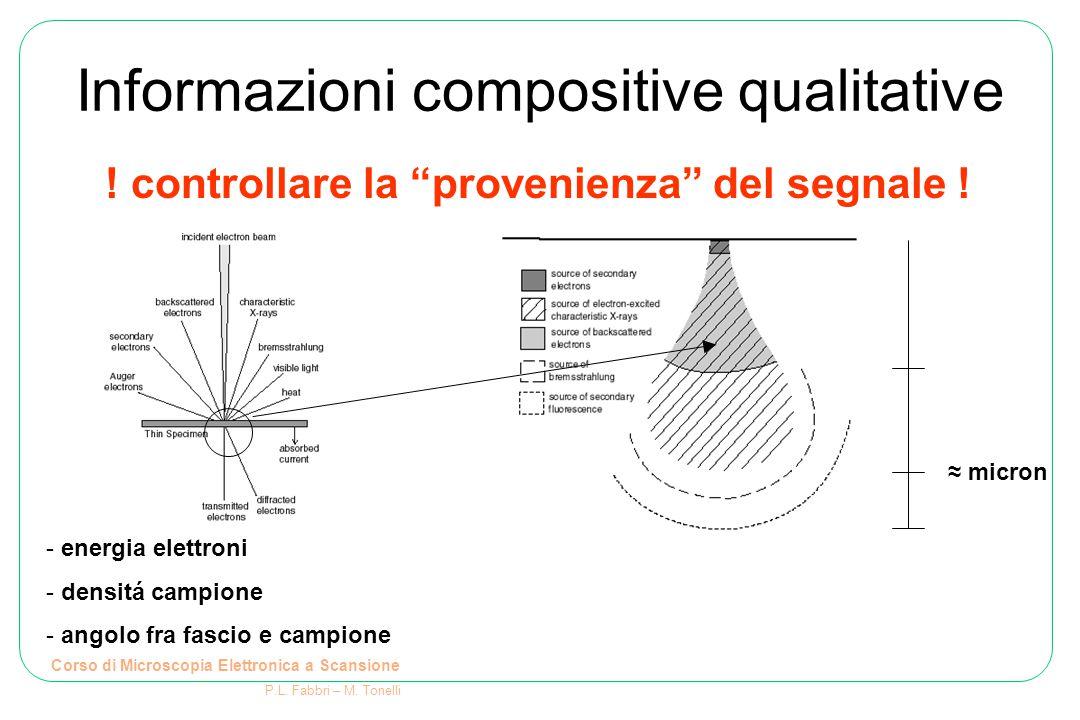 Informazioni compositive qualitative