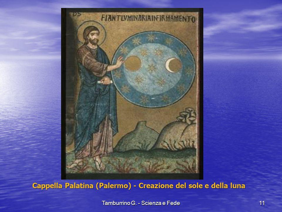 Cappella Palatina (Palermo) - Creazione del sole e della luna
