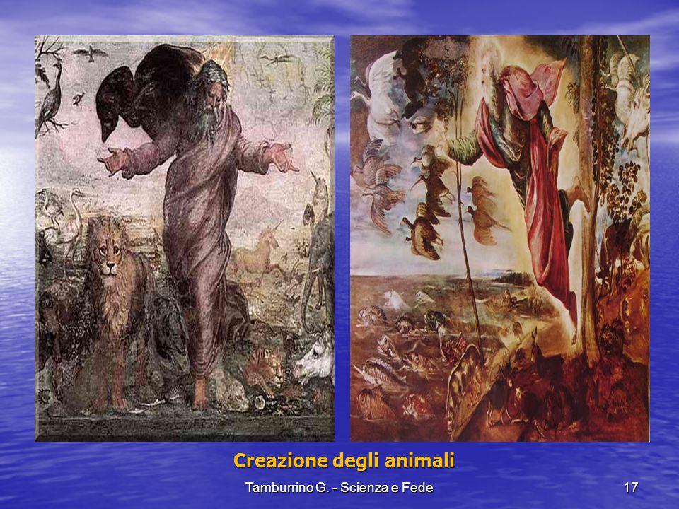 Creazione degli animali