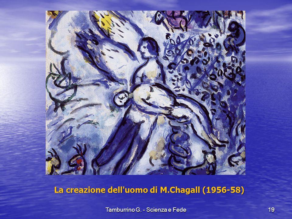 La creazione dell uomo di M.Chagall (1956-58)