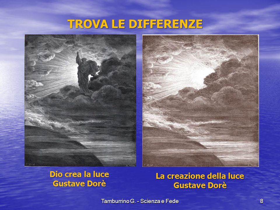 La creazione della luce Gustave Dorè