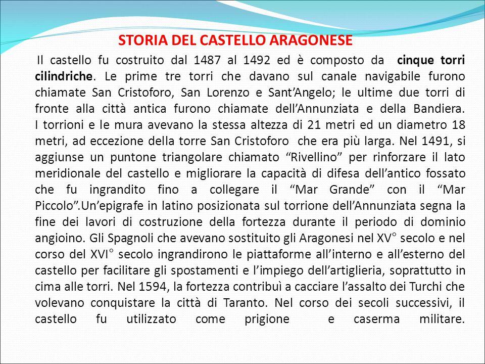 STORIA DEL CASTELLO ARAGONESE