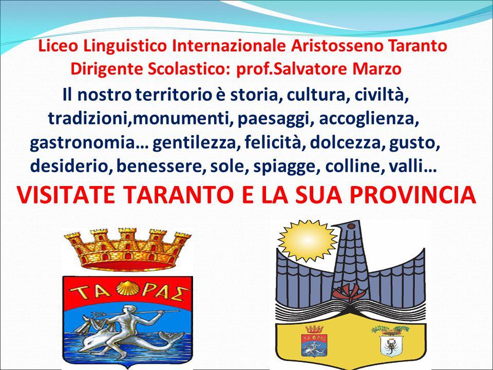 VISITATE TARANTO E LA SUA PROVINCIA
