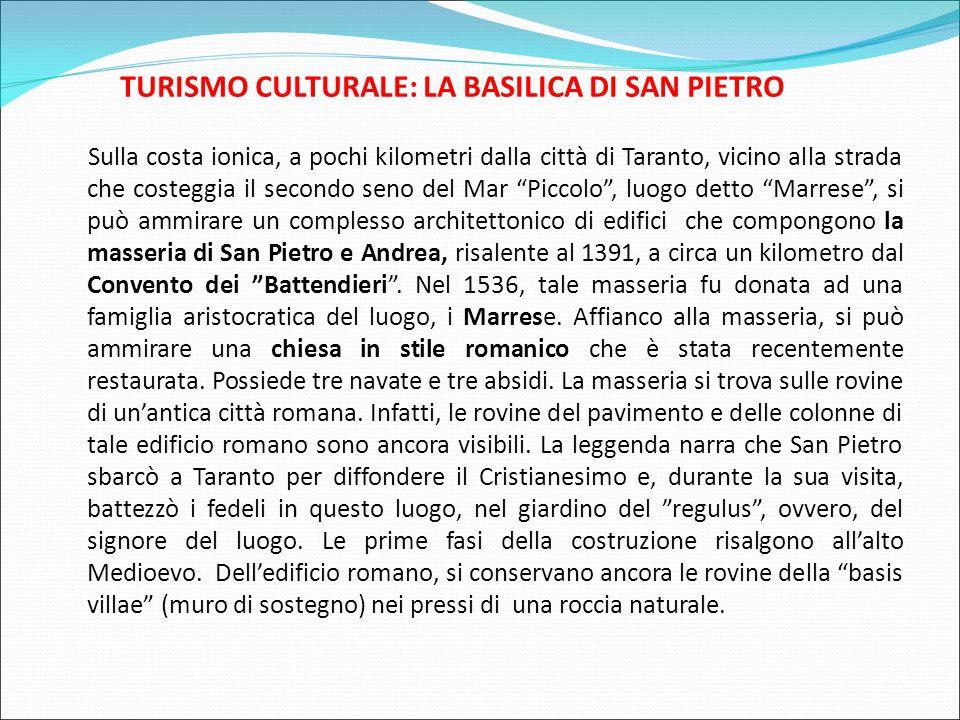 TURISMO CULTURALE: LA BASILICA DI SAN PIETRO