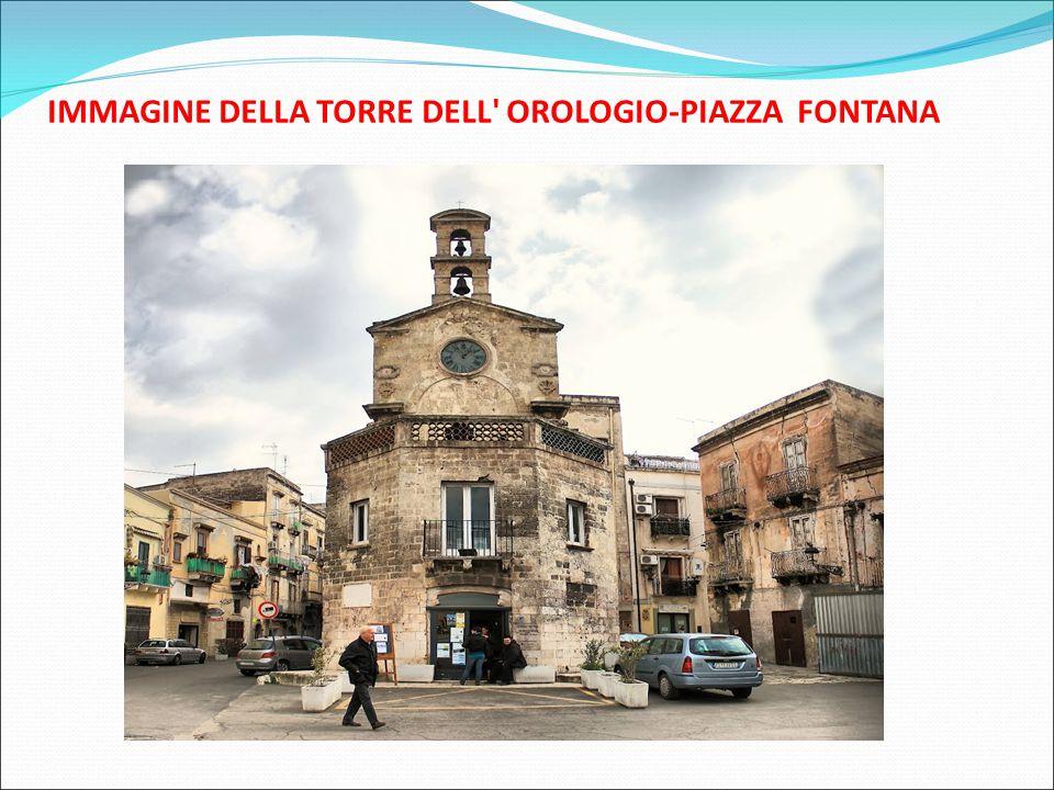 IMMAGINE DELLA TORRE DELL OROLOGIO-PIAZZA FONTANA