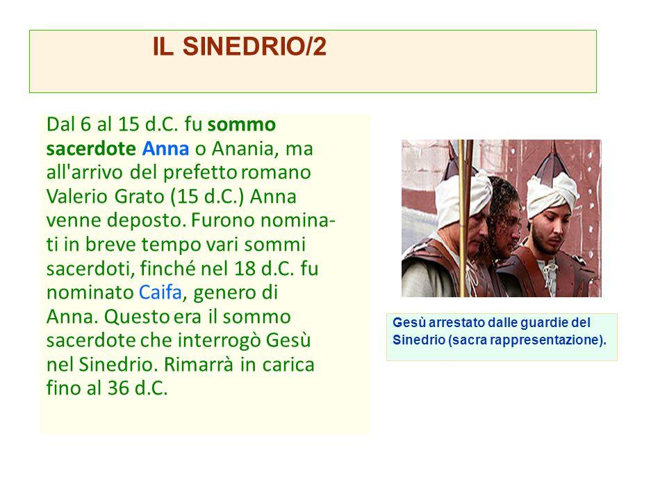IL SINEDRIO/2