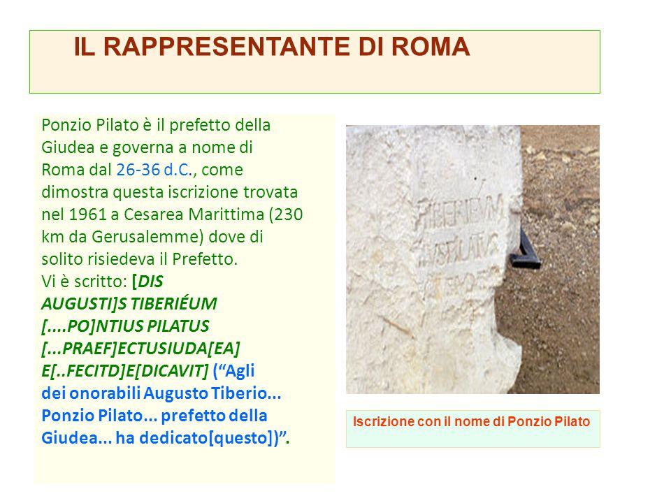 IL RAPPRESENTANTE DI ROMA