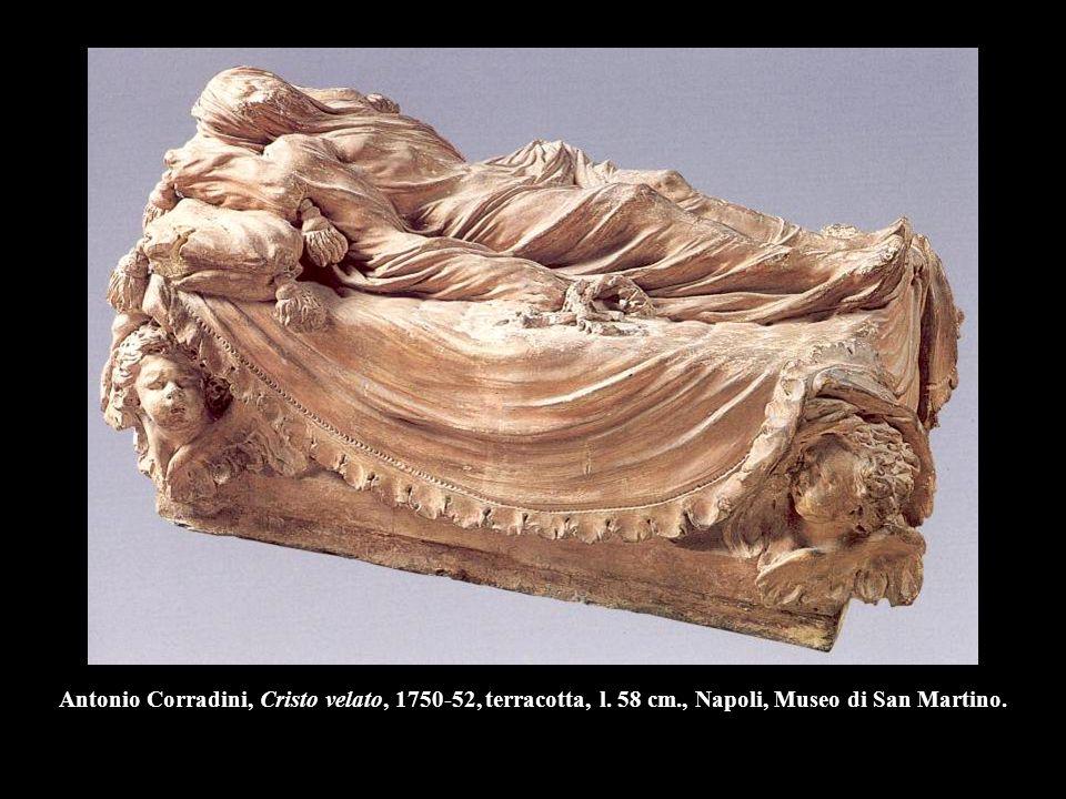 Antonio Corradini, Cristo velato, 1750-52, terracotta, l. 58 cm