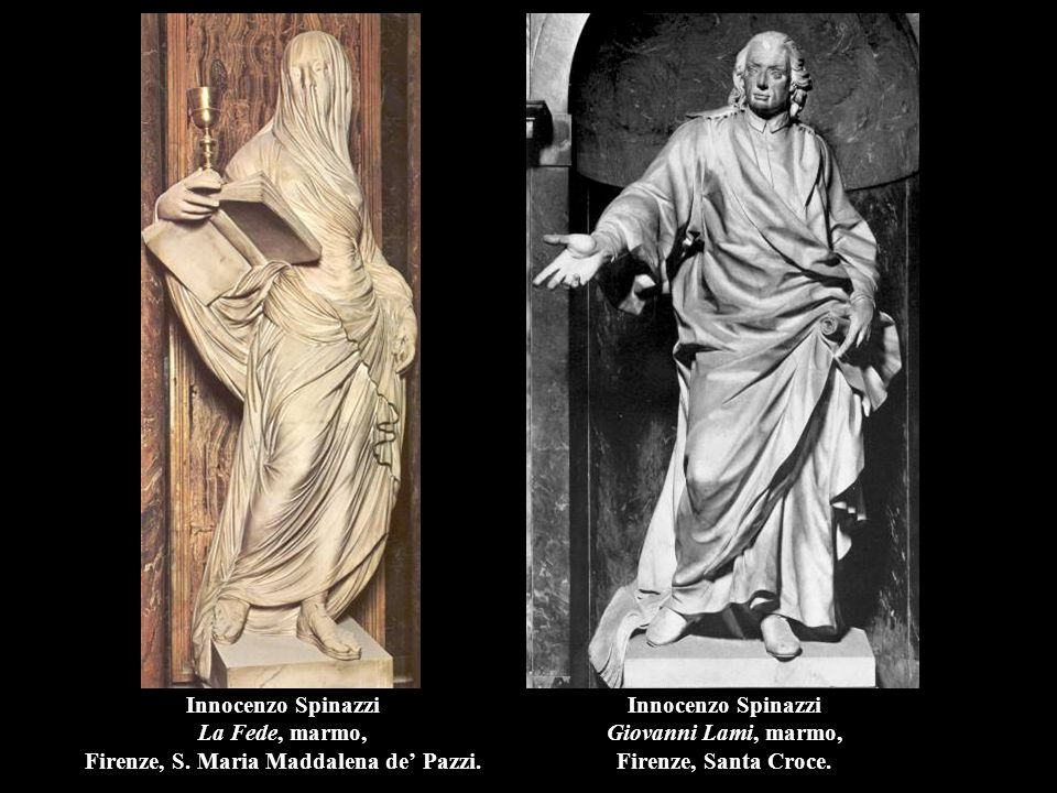 Innocenzo Spinazzi Giovanni Lami, marmo, Firenze, Santa Croce.