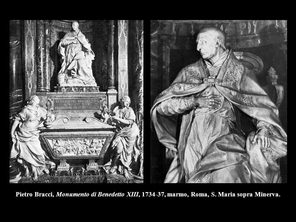 Pietro Bracci, Monumento di Benedetto XIII, 1734-37, marmo, Roma, S
