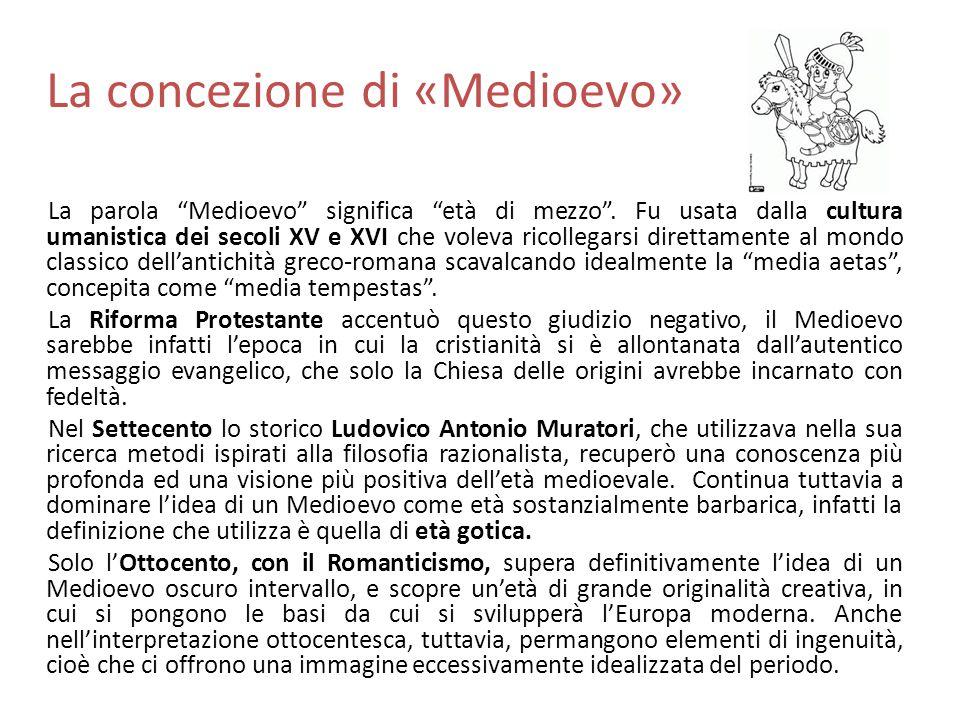 La concezione di «Medioevo»