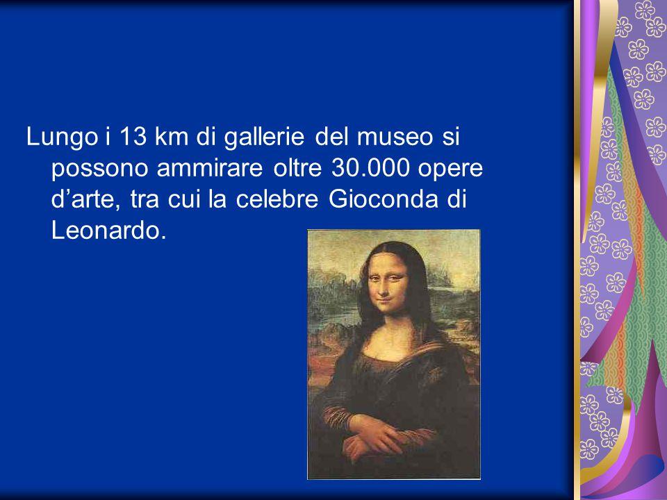 Lungo i 13 km di gallerie del museo si possono ammirare oltre 30