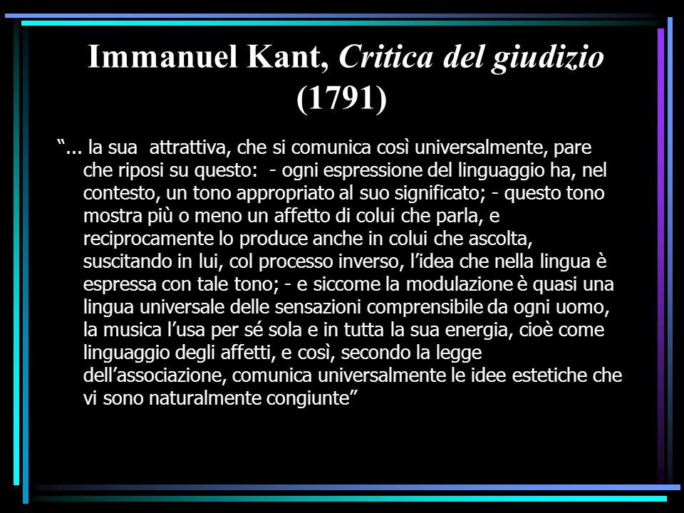 Immanuel Kant, Critica del giudizio (1791)
