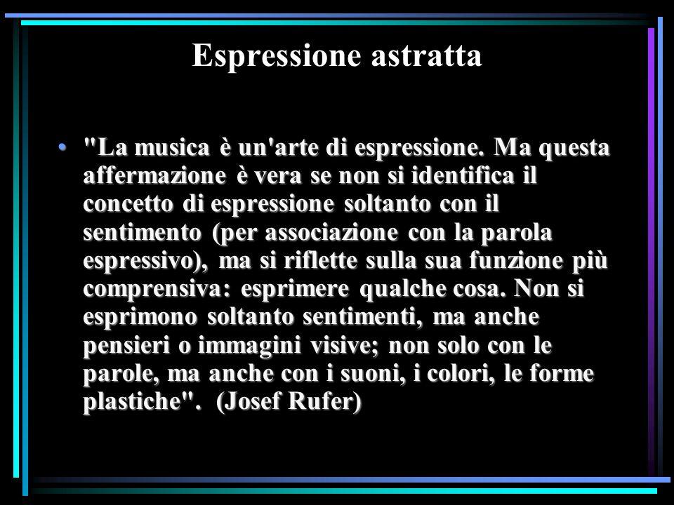 Espressione astratta