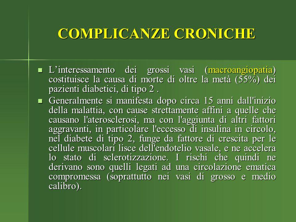 COMPLICANZE CRONICHE